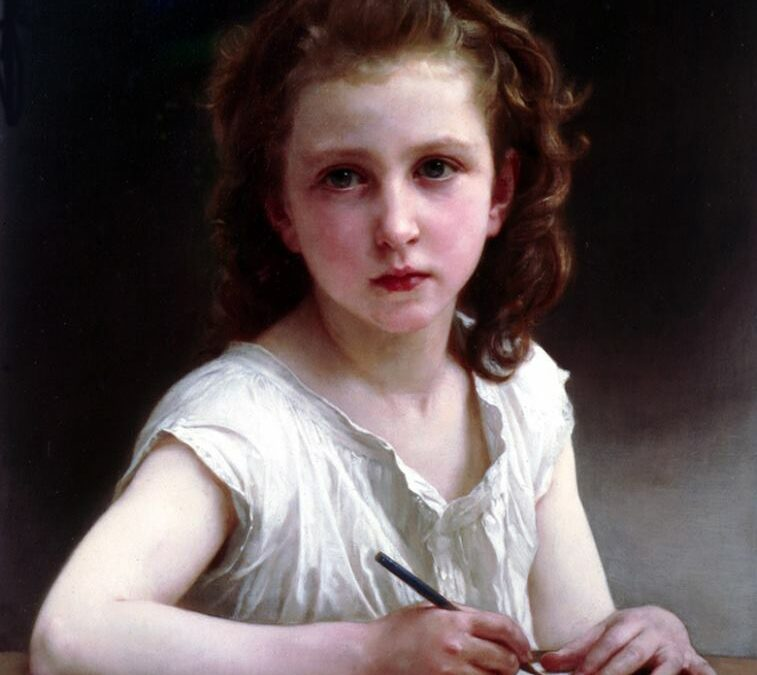 A Vocation – by William A. Bouguereau